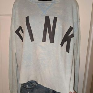 Long sleeve pink t